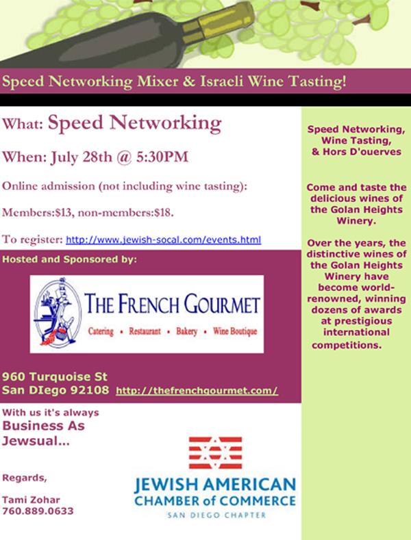 Jewish speed dating san diego
